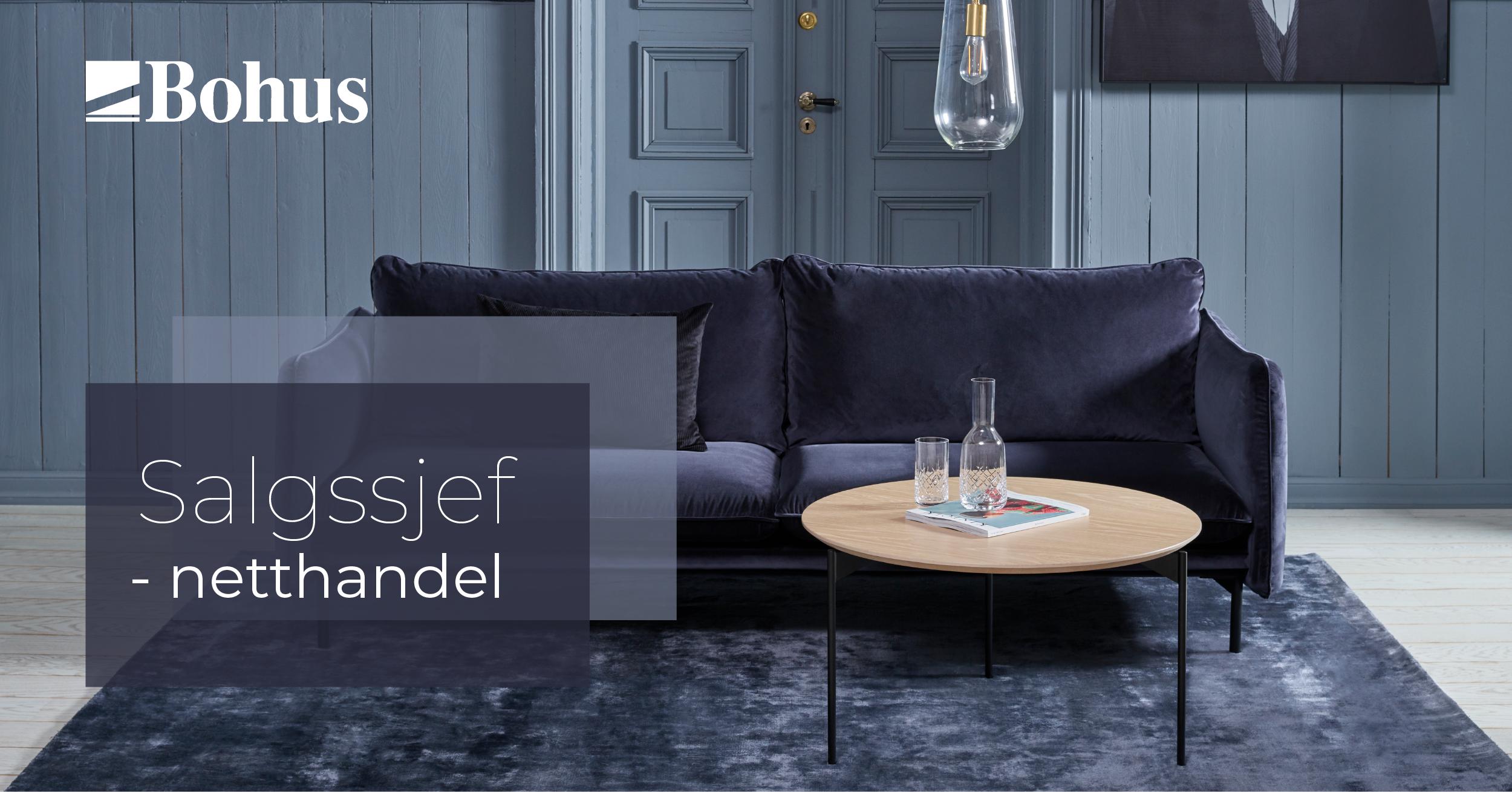 Vi søker Salgssjef Netthandel til Norges største møbelkjede!